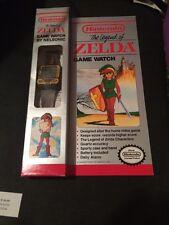 New Old Stock Black Legend Of Zelda Nelsonic Game Watch Nintendo WORKS PERFECT!
