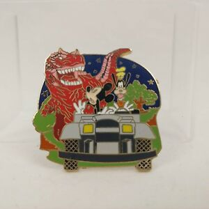 Disney-57789-WDW-Attractions-Mystery-Pin-Collection-Dinosaur-Mickey-amp-Goofy