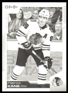 2020-21-UD-O-Pee-Chee-Base-Black-amp-White-253-Patrick-Kane-Chicago-Blackhawks