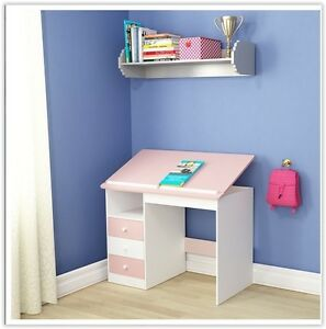 Modern Study Desk Pc Computer Table Childs Kids Student Office