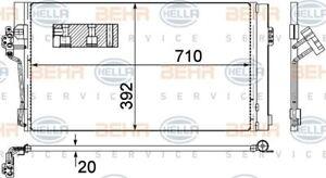 8FC-351-343-014-HELLA-Condenser-air-conditioning