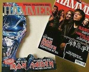 Iron-Maiden-Collectors-Card-Sleeve-issue-Metal-Hammer-October-2003-Metallica