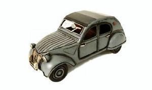 Model Car vehicles Timplate Gift's Citroen 2CV 2 Cv Scale 1:18 Miniatures