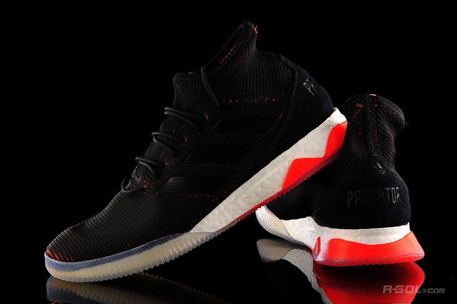 La nueva Adidas Predator Tango 18.1 TR Training soccer zapatos Negro SZ cp9268 11,5 Rojo Negro zapatos 202157