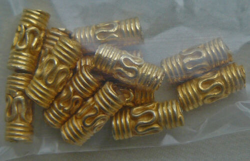 Gold Vermeil beads Many styles and sizes Gold over Sterling Silver by the bag.