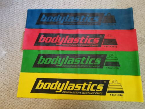 Bodylastics Flat Resistance stretch physio exercise strength Bands