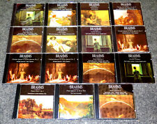 CD SAMMLUNG KLASSIK BRAHMS SONATEN STREICH QUARTETTE QUINTETTE KLARINETTE CELLO