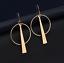 1-Pair-Elegant-Fashion-Women-Geometric-Gold-Circle-Dangle-Earrings-Jewelry thumbnail 1