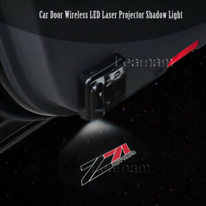 2x Car Door Wireless 7w Led Laser Projector Ghost Shadow Light For