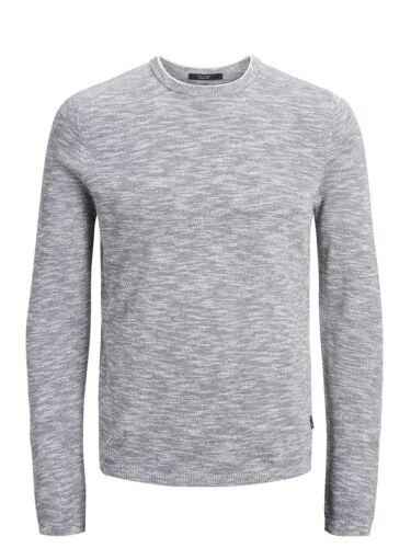 Jack /& Jones Premium Sweater Melange Casual Smart Jumper Sweatshirt Mens JPRJoel
