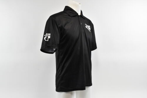 Verge V-Gear Men/'s S//S Staff Tech Polo Brand New Size Large Black