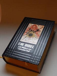 Dali Bibel mit Bildern von Salvador Dali, limitiert, selten rar Ledereinband - Deutschland - Dali Bibel mit Bildern von Salvador Dali, limitiert, selten rar Ledereinband - Deutschland