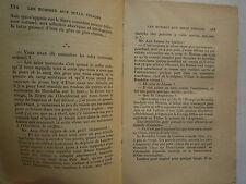 LES HOMMES AUX 1000 VISAGES DE MAURICE VERNE EDITIONS DU MASQUE GUERRE SECR 1934