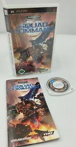 Warhammer 40000 Squad Command Sony PSP PlayStation Portable OVP PAL CiB