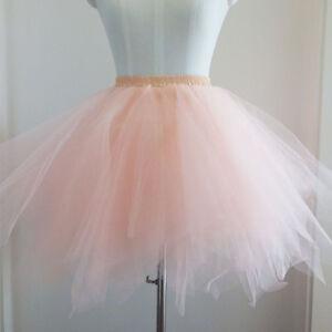 B38-Tuetu-Balletto-Gonna-In-Toulle-Sottoveste-Vestito