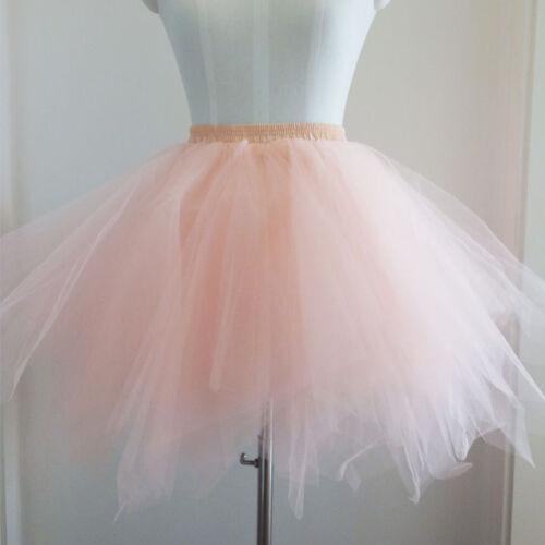B38 Tütü Ballettrock Tüllrock Petticoat Ballettkleid Rock Ballett