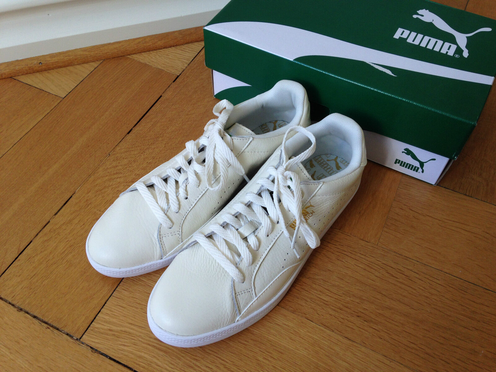 PUMA SNEAKERS MATCH LO, MARSHMALLOW-WHITE, GR. 39, NEU MIT OVP, DER KLASSIKER! Comfortable and good-looking