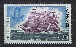 FRANCIA-FRANCE-1971-MNH-SC-1301-Cape-Horn-chipper-Antoinette