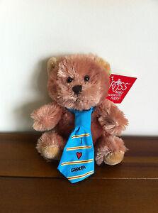 Love Grandpa Teddy Bear/Grandfather Fathers Day Gift Small