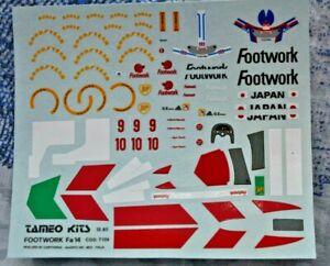 Decal TAMEO KITS 1//43 BENETTON B195 JAPANESE GP SCHUMACHER HERBERT CARTOGRAF
