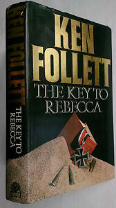 KEN-FOLLETT-THE-KEY-TO-REBECCA-1ST-1-H-B-B-C-EDITION-1980-CAIRO-ROMMEL-AFRICA