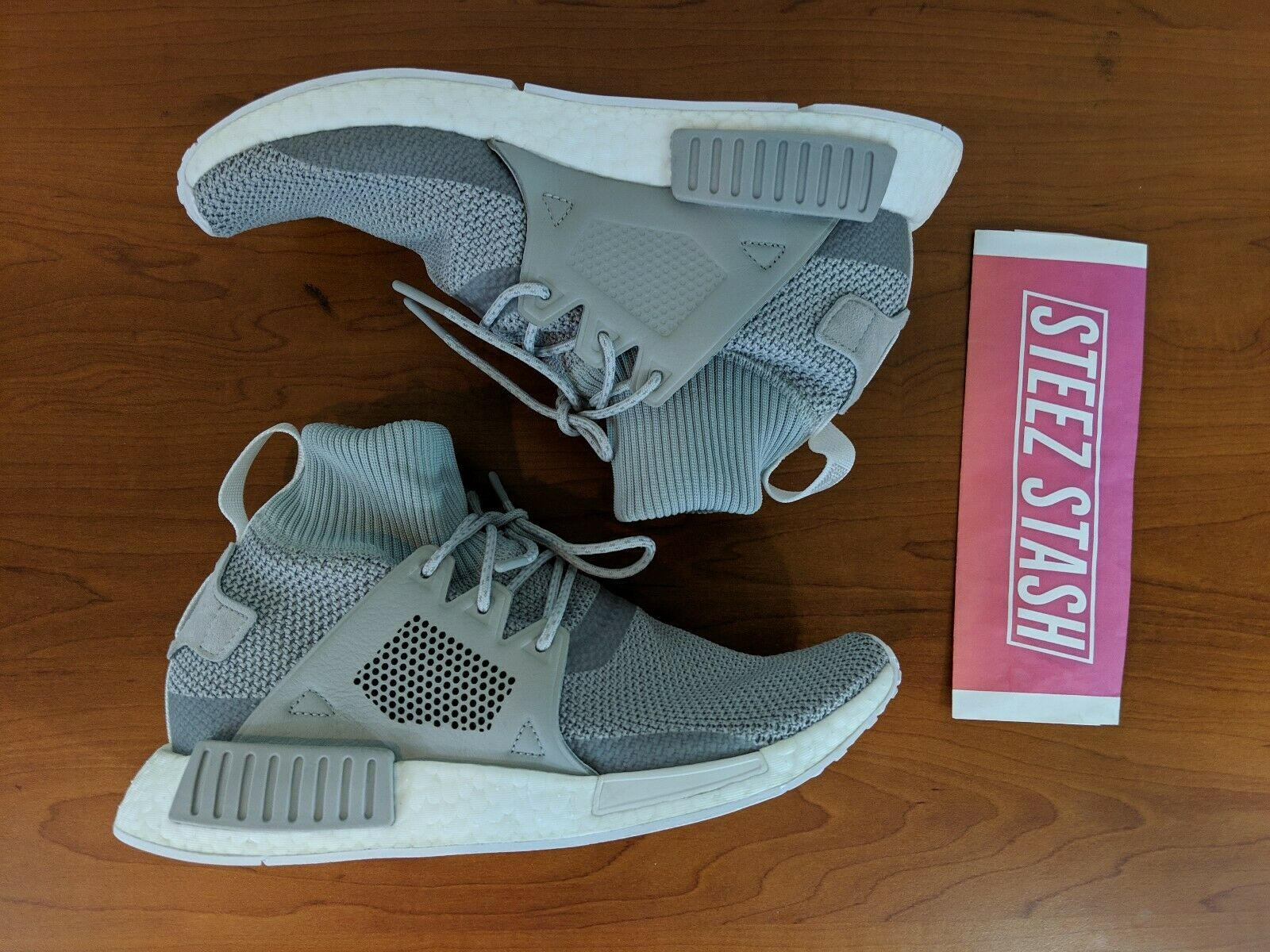 Adidas NMD XR1 Winter Mens Sneakers Boost Grey White BZ0633 Size 9