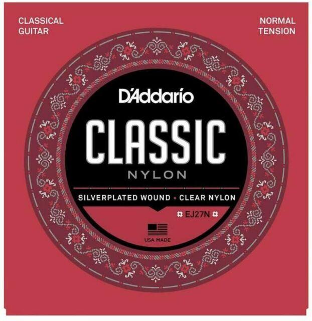 d'Addario EJ27N Set Corde Classica Ej27 Classic Nylon Dimensioni 4/4