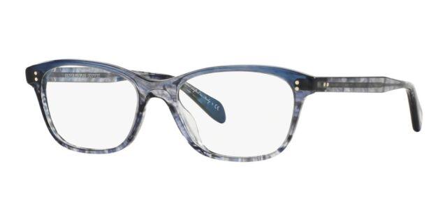 0b288193076 Oliver Peoples 5224 Ashton Eyeglasses 1419 Blue Authorized Dealer ...