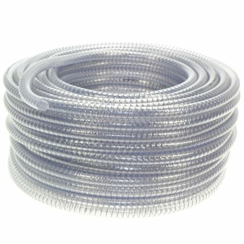 25-30 MM Clear pvc hose cable spiral Steel D
