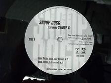 "Death Row Records LP Record Snoop Doggy Dogg Swoop G  DJ Radio Promo 12"""