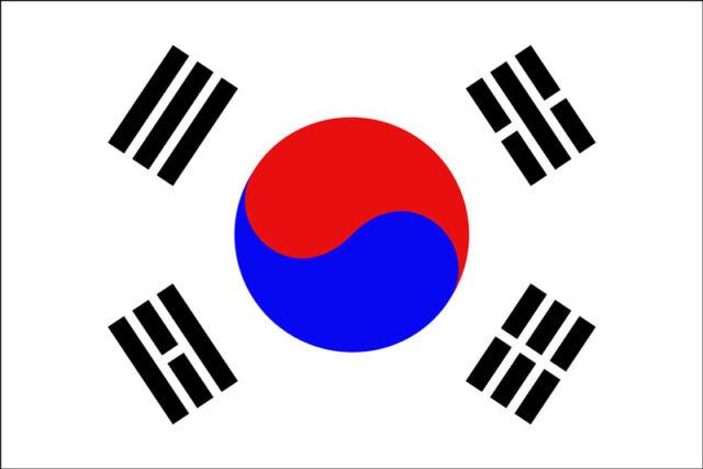 SOUTH KOREA FLAG 5FT X 3FT