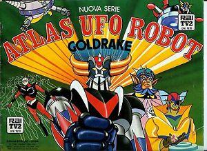 FIGURINE-ATLAS-UFO-ROBOT-GOLDRAKE-NUOVA-SERIE-EVADO-SCAMBIO-MANCOLISTE-ALBUM