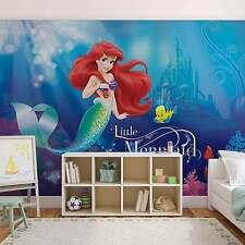 Disney Wallpaper mural for children's bedroom Ariel Mermaid Disney photo wall