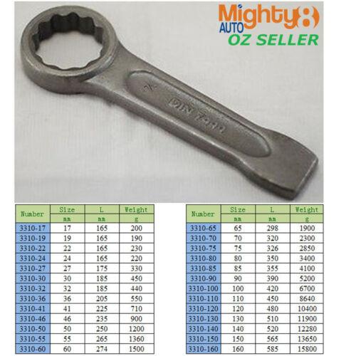 Strong Slugging Ring Spanner Slogging//Striking//Flogging High Quality 52mm 155mm