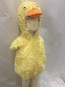 Image is loading Boutique-Fuzzy-Fluffy-Baby-Duck-Halloween-Costume-Infant- & Boutique Fuzzy Fluffy Baby Duck Halloween Costume Infant Toddler ...