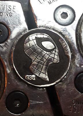 Coalburn classic Hobo Nickel  engraved Love token Spiderman