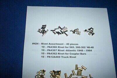 Rivet Assortment American Flyer Parts #226 12 pieces