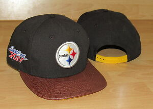 8e50b49ca PITTSBURGH STEELERS NEW ERA 9FIFTY SUPER BOWL XIV SNAPBACK MENS HAT ...