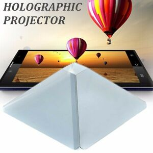 HOLOGRAPHIC PROJECTOR MOBILE SMART PHONE HOLOGRAM 3D FOR IPHONE SAMSUNG