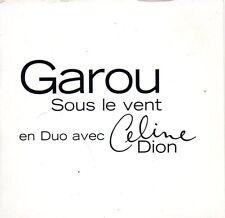 GAROU & Céline DIONSous le vent Promo 1-track CARD SLEEVECD SINGLEColumbia