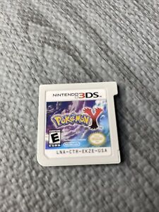 Pokemon Y for Nintendo 3DS Cartridge Only Authentic RARE CLEAN
