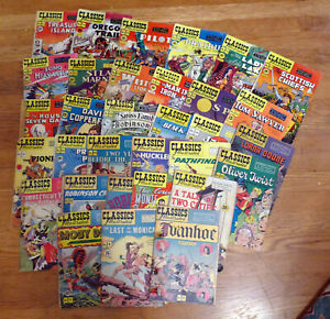 Classics-Illustrated-U-PICK-Your-choice-FN-NM-early-line-drawn-editions