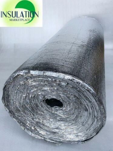 SmartSHIELD Foam Core Radiant Barrier 5mm Reflective Insulation roll Aluminum