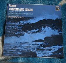 WAGNER / FURTWANGLER TRISTAN ISOLDE UK LP HMV HQM 1235  FLAGSTAD , SUTHAUS