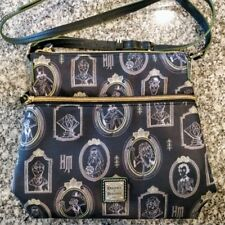 c3336793a88 Disney Dooney   Bourke Haunted Mansion Portraits Backpack Purse Bag ...