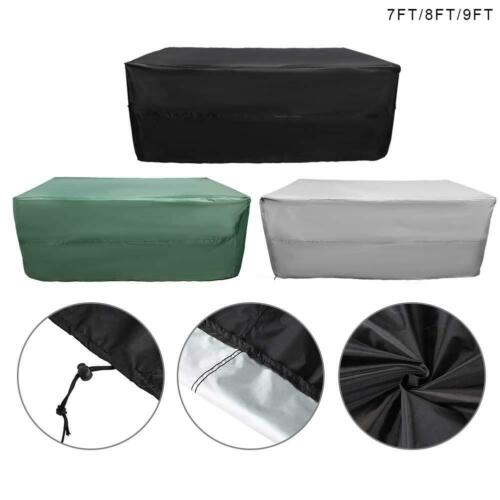 Billiard Pool Table Cover 7//8//9ft Foot Heavy Duty Fitted Dustproof Full Covers