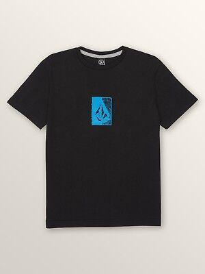 Volcom Big Boys Youth L Short Sleeve T-Shirt Tee Pink Surf and Enjoy