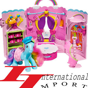 neuf barbie princesse poupee bebe petit poney jouet fille chateau de maison ebay. Black Bedroom Furniture Sets. Home Design Ideas