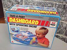 Vintage Super rare LIWACO DASHBOARD CONSOLE TAKE A PART drive like Tomy MISB