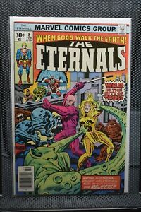 Eternals #8 Marvel Comics 1977 Jack Kirby 1st Appear Karkas & Ransak Reject 8.0